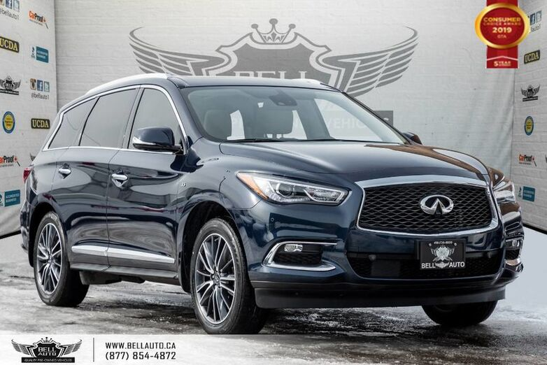2017 INFINITI QX60 AWD, NO ACCIDENT, 7 PASS, V6, NAVI, 360 CAM, SENSORS Toronto ON