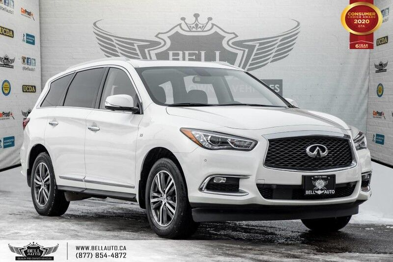 2017 INFINITI QX60 AWD, V6, 7 PASS, NO ACCIDENT, NAVI, 360 CAM, BLIND SPOT