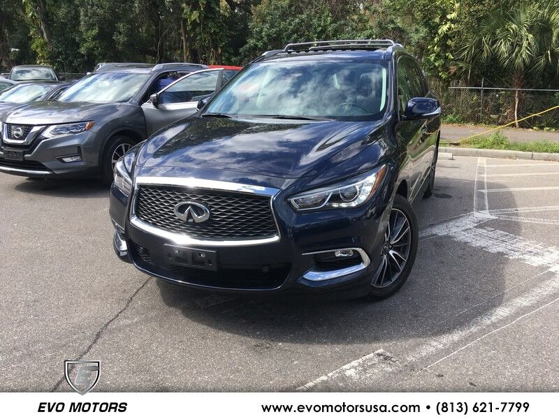 2017 INFINITI QX60 AWD W/ DELUXE TOURING PKG. PANO. COOLED SEATS Seffner FL