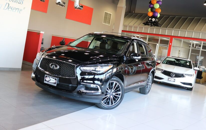 2017 INFINITI QX60 Deluxe Technology Premium Plus Package Theater Package Sunroof Navigation 1 Owner Springfield NJ