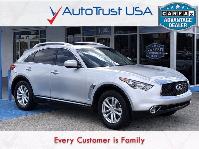 2017 INFINITI QX70 Base Miami FL
