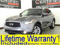 INFINITI QX70 PREMIUM NAVIGATION SUNROOF REAR CAMERA PARK ASSIST HEATED LEATHER SEATS BLU 2017