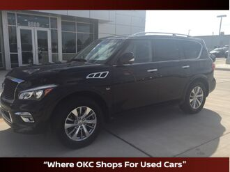 2017_INFINITI_QX80_Leather, suroof and navigation_ Oklahoma City OK