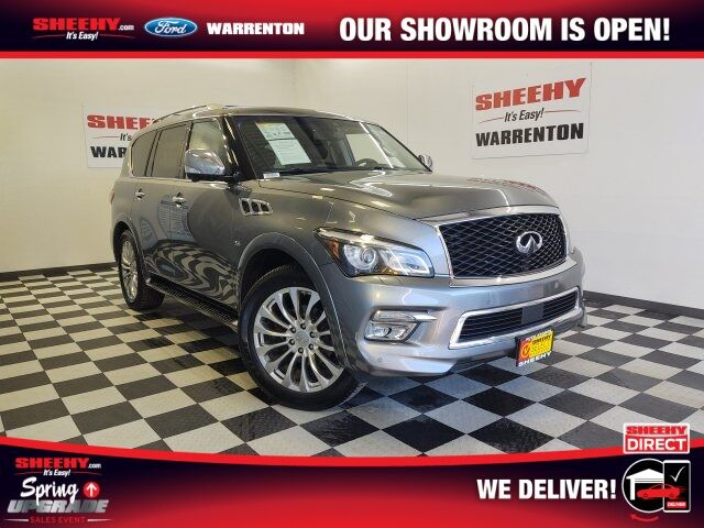 2017 INFINITI QX80 Base Warrenton VA