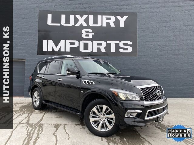 2017 INFINITI QX80 Base Hutchinson KS