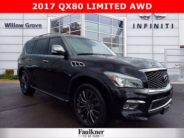 2017 INFINITI QX80 Limited Willow Grove PA