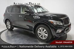 2017_INFINITI_QX80_NAV,CAM,SUNROOF,HTD STS,PARK ASST,20IN WHLS_ Plano TX