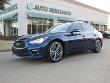 2017_Infiniti_Q50_2.0t Sport*MSRP $45,785 * Sun/Moonroof, Back-Up Camera, Bluetooth Connection,Navigation System_ Plano TX