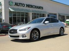 2017_Infiniti_Q50_3.0t Premium NAV, SUNROOF, BACKUP CAM, BLUETOOTH, PUSH BUTTON, AUX INPUT, SAT RADIO_ Plano TX