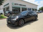 2017 Infiniti Q50 Red Sport 400 AWD *Driver Assistance Package* NAVIGATION, HTD FRONT STS, BLIND SPOT MONITOR