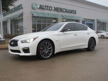 2017_Infiniti_Q50_Red Sport 400 AWD*BACK UP CAM,NAVIGATION SYST,BLUETOOTH,PREMIUM SOUND SYST,UNDER FACTORY WARRANTY!_ Plano TX