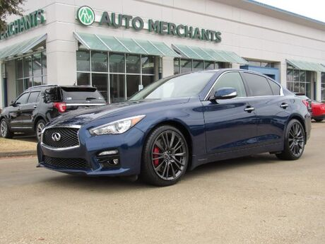 2017 Infiniti Q50 Red Sport 400*BACKUP CAMERA,PREMIUM SOUND SYSTEM,BLUETOOTH CONNECTION*UNDER FACTORY WARRANTY! Plano TX