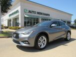 2017 Infiniti QX30 Premium LEATHER, PANORAMIC SUNROOF, BACKUP CAMERA, KEYLESS START, HTD FRONT SEATS, CLIMATE CONTROL