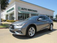 2017_Infiniti_QX30_Premium LEATHER, PANORAMIC SUNROOF, BACKUP CAMERA, KEYLESS START, HTD FRONT SEATS, CLIMATE CONTROL_ Plano TX