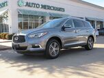 2017 Infiniti QX60 AWD  LEATHER SEATS, SATELLITE RADIO, HEATED FRONT SEATS,  BLUETOOTH CONNECTION, BACK UP CAMERA