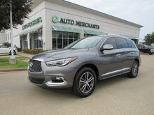 2017_Infiniti_QX60_FWD LEATHER, HTD FRONT STS, BACKUP CAM, KEYLESS START, ECO/SPORT, BLUETOOTH, BOSE SOUND, UNDER WARRA_ Plano TX