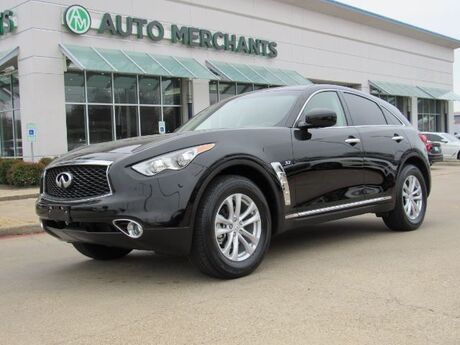 2017 Infiniti QX70 Base LEATHER, SUNROOF, AUTO LIFT GATE, FRONT HEATED STS, BACKUP CAMERA Plano TX