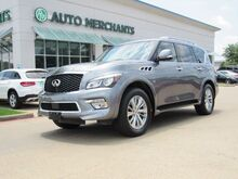 2017_Infiniti_QX80_2WD **Driver Assistance Package ** 3rd Row Seat, Adaptive Cruise Control, Back-Up Camera, Blind Spot_ Plano TX