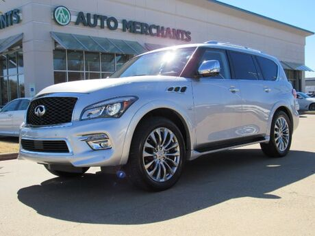 2017 Infiniti QX80 2WD  LEATHER SEATS, NAVIGATION, ENTERTAINMENT SYSTEM, SUNROOF, 360 DEGREE CAMERA Plano TX