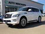 2017 Infiniti QX80 2WD  NAVIGATION, ENTERTAINMENT SYSTEM, SUNROOF, 360 DEGREE CAMERA, HEATED FRONT AND REAR SEATS