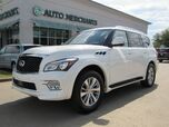 2017 Infiniti QX80 MSRP $72,135 *** MSRP $72,135 , Theater Package, Driver Assistance Package*** Entertainment System