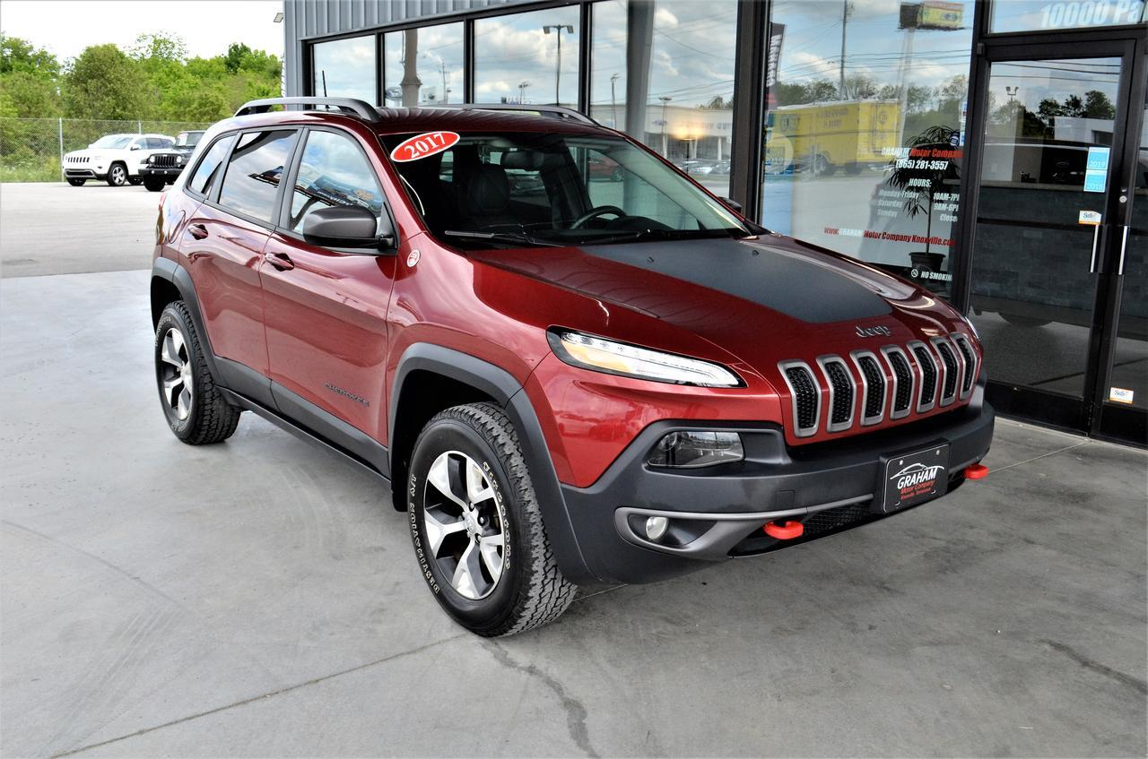 2017 JEEP CHEROKEE TRAILHAWK Knoxville TN