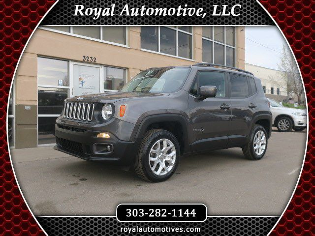 2017 JEEP RENEGADE LATITUDE Englewood CO