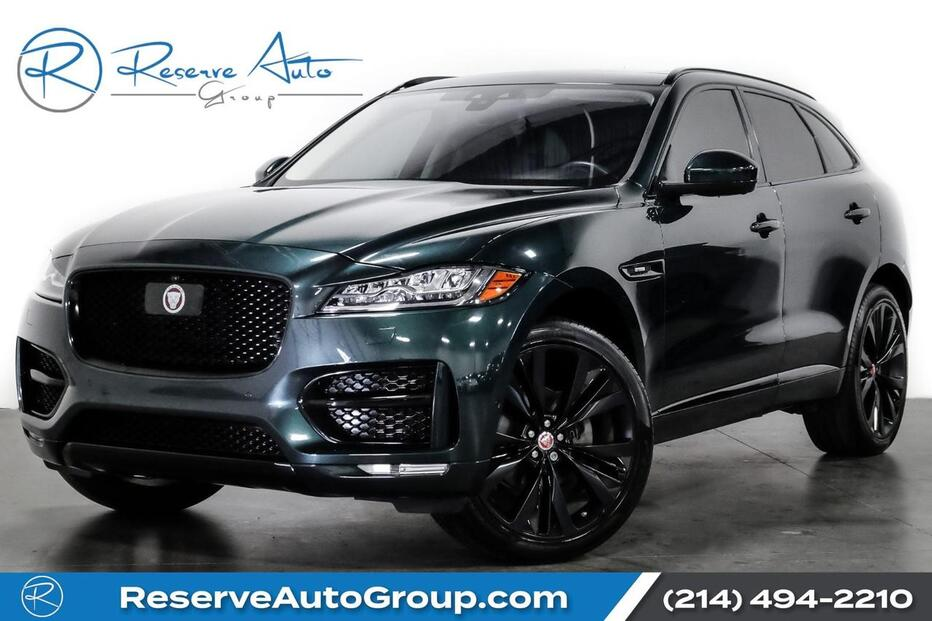 2017_Jaguar_F-PACE_20d R-Sport Black Pkg Tech Pkg Adaptive Cruise_ The Colony TX