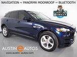 2017 Jaguar F-PACE 35t Premium AWD *NAVIGATION, BACKUP-CAMERA, COLOR TOUCH-SCREEN, PANORAMA MOONROOF, MERIDIAN AUDIO, REMOTE KEYLESS ENTRY, 19 INCH WHEELS, BLUETOOTH PHONE & AUDIO