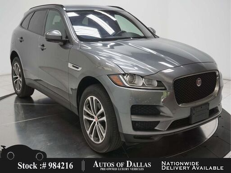2017_Jaguar_F-PACE_35t Premium NAV,CAM,PANO,PARK ASST,KEY-GO,19IN WLS_ Plano TX