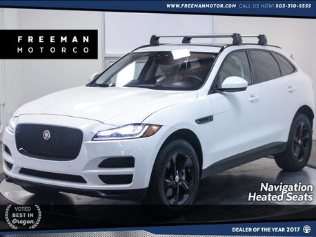 2017_Jaguar_F-PACE_35t Prestige AWD Navigation Heated Seats Pano_ Portland OR
