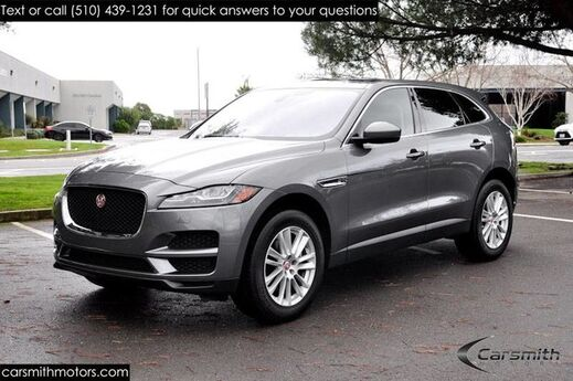2017 Jaguar F-PACE 35t Prestige with Vision Package/Blind Spot Meridian Sound/One Owner and Babied California Car Fremont CA