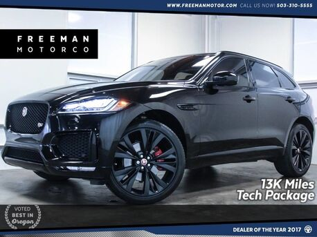 2017_Jaguar_F-PACE_S AWD 13K Miles Tech Package Head-Up Display_ Portland OR