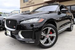 2017_Jaguar_F-PACE_S CLEAN CARFAX NAVIGATION PANORAMIC ROOF_ Houston TX