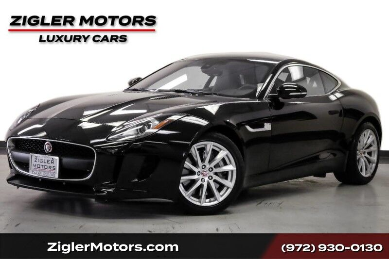 2017 Jaguar F-TYPE Coupe One Owner 21Kmi Clean Carfax W/ Factory Warranty Addison TX