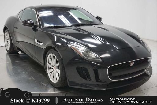 2017_Jaguar_F-TYPE_NAV,KEY-GO,18IN WHLS,HID LIGHTS_ Plano TX