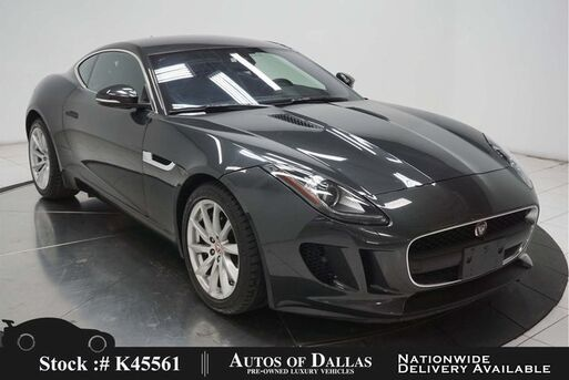 2017_Jaguar_F-TYPE_NAV,KEY-GO,18IN WLS,HID LIGHTS_ Plano TX