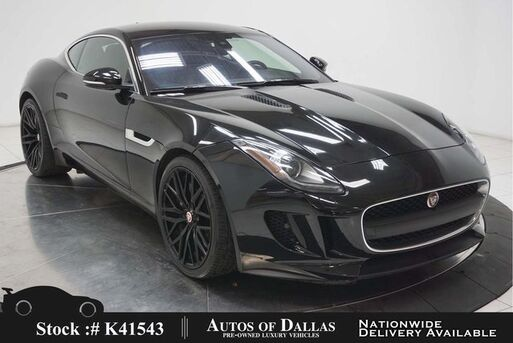 2017_Jaguar_F-TYPE_NAV,KEY-GO,20IN WHLS,HID LIGHTS_ Plano TX