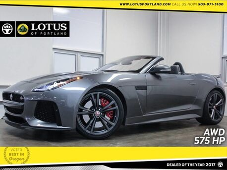 2017_Jaguar_F-TYPE_SVR AWD 575HP Just 19K Miles_ Portland OR