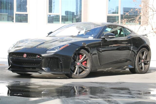 2017 Jaguar F-TYPE SVR San Francisco CA