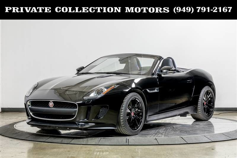 2017_Jaguar_F-Type_Convertible One Owner Clean Carfax_ Costa Mesa CA