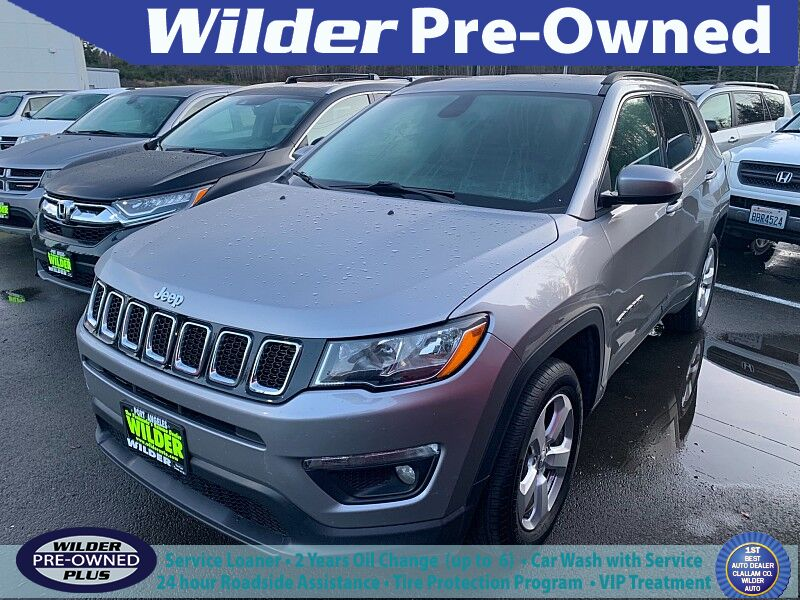 2017 Jeep All-New Compass 4d SUV 4WD Latitude Port Angeles WA