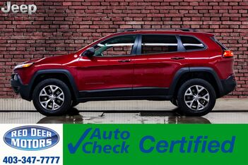 2017_Jeep_Cherokee_4x4 Trailhawk Leather Roof Nav BCam_ Red Deer AB