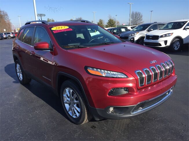 2017 Jeep Cherokee LIMITED 4X4 Evansville IN