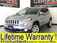 Jeep Cherokee LIMITED LEATHER HEATED SEATS REAR CAMERA BLUETOOTH REMOTE ENGINE START KEYL 2017