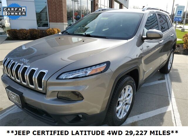 2017 Jeep Cherokee Latitude Mayfield Village OH