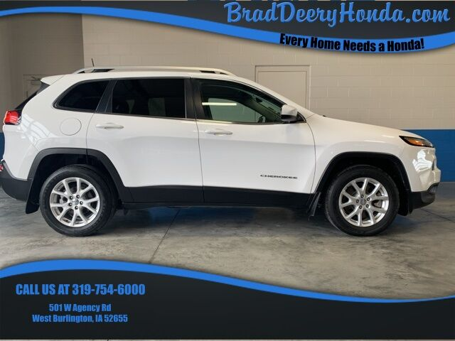 2017 Jeep Cherokee Latitude West Burlington IA