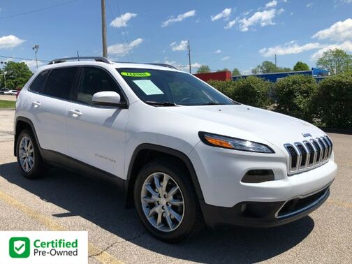 2017_Jeep_Cherokee_Limited 4WD_ Frankfort KY