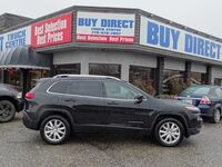 Jeep Cherokee Limited 4X4 Heated Leather seats, Heated steering wheel, Cruise control, Back-up cam, Panoramic sunroof, Touch screen 2017
