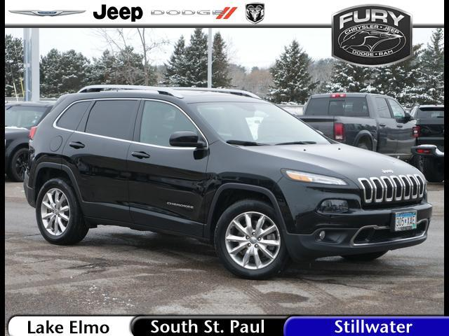 2017 Jeep Cherokee Limited 4x4 St. Paul MN